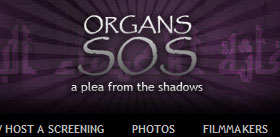 Organs SOS | a plea from the shadows - Charity Web Site Design